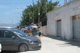 La Policía desaloja el Lluís Sitjar