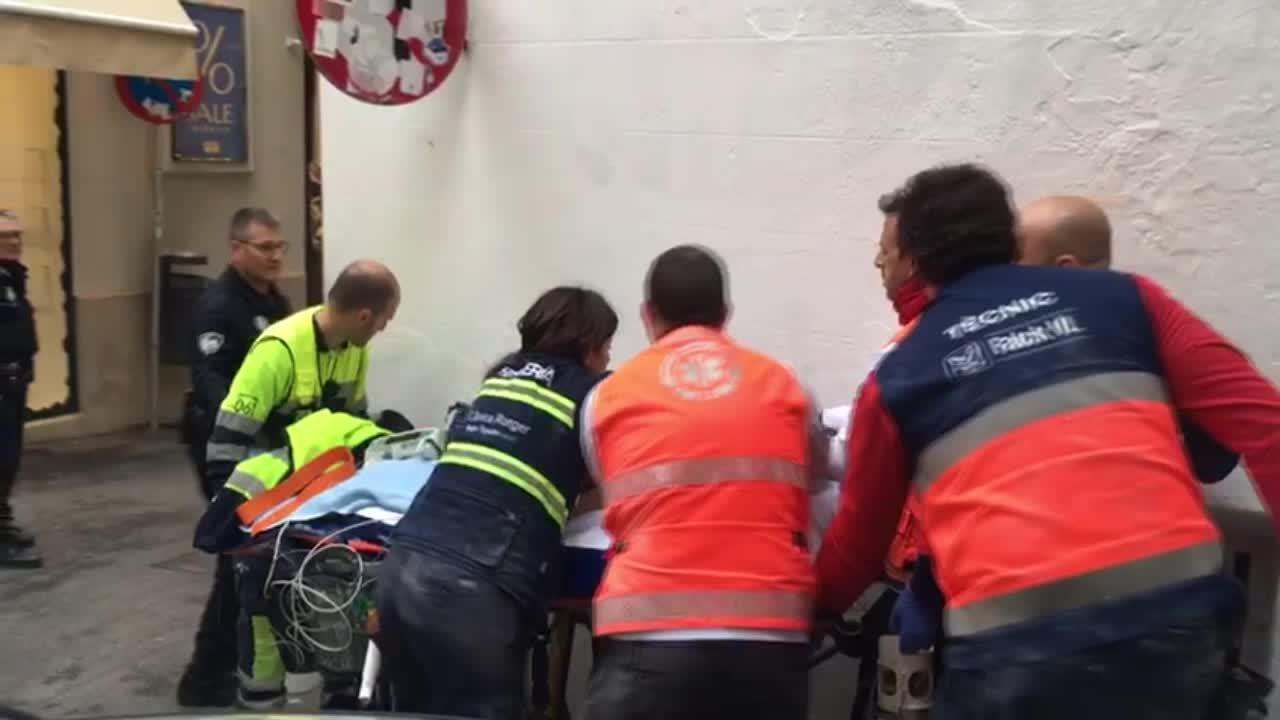 Herido grave un albañil al caer de un cuarto piso en Palma