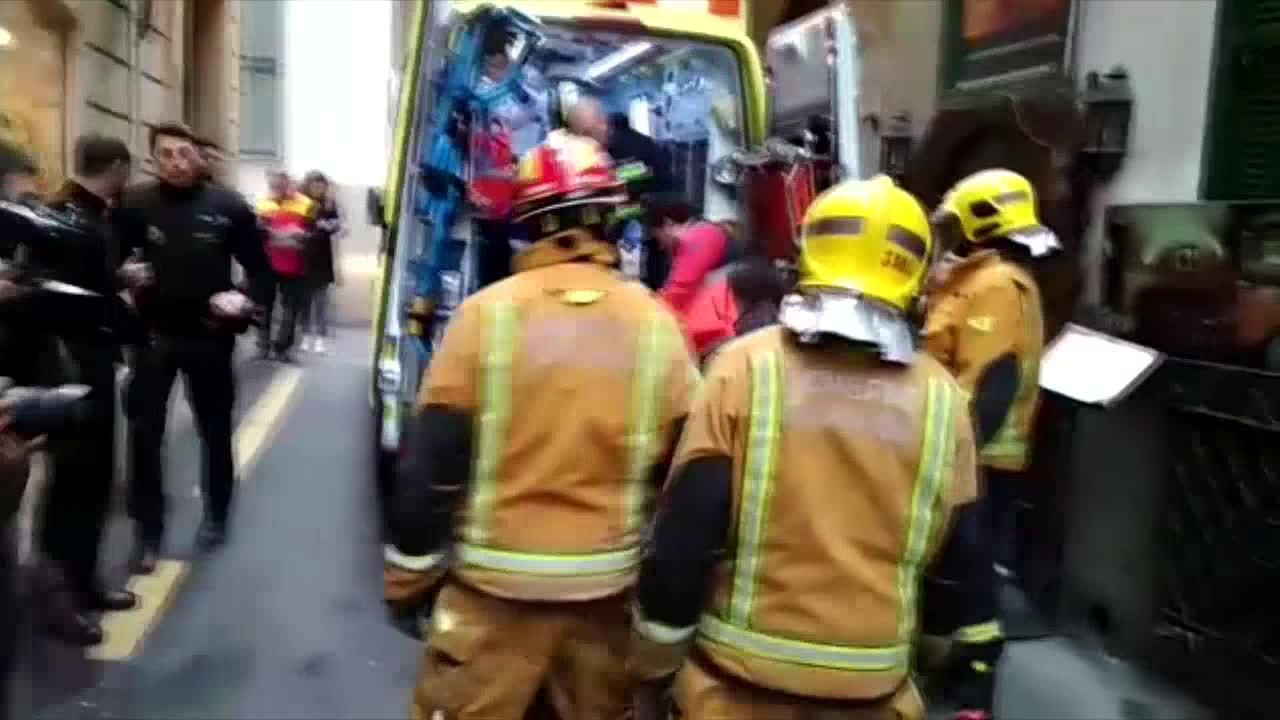 Fallece el obrero que cayó desde 15 metros por el hueco de un ascensor en Palma