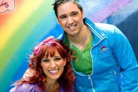 Juan 'D' y Beatriz con Ciudad Arcoiris