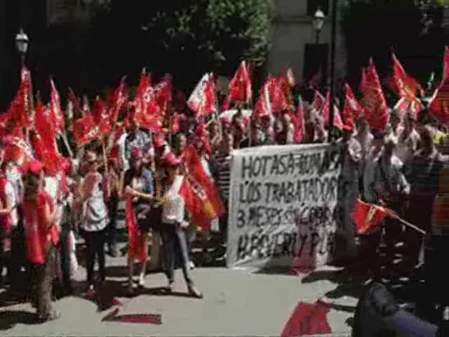 UGT y CCOO exigen una huelga general europea para hacer frente al Pacto por el Euro