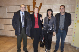 Se celebró con una cena la inauguración del enlace aéreo Palma-Lleida