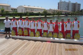 Nueve palistas de Balears competirán en el Europeo júnior