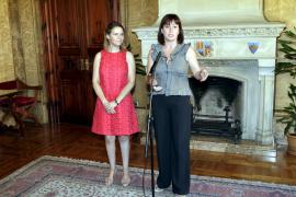 María Salom y Francina Armengol