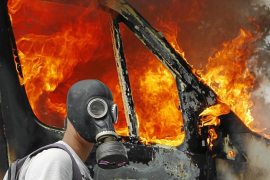 Batalla campal ante el Parlamento griego por el plan de ajuste