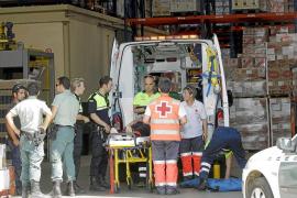 Hospitalizado en estado grave un trabajador tras sufrir una caída en Marratxí