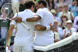 Federer y Feliciano caen en Wimbledon