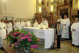 Emotiva celebración de la fiesta de Sant Marçal