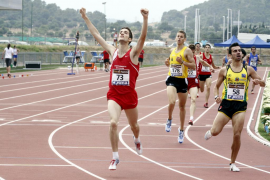 El mallorquín David Bustos, entre las «promesas» del Atletismo