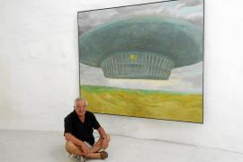 El artista Robert Llimós propone su «antropología espacial» en sa Pleta Freda