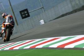 Stoner logra la 'pole' mientras que Lorenzo saldrá quinto en unos entrenamientos condicionados por la lluvia