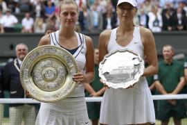 Kvitova sorprende a Sharapova  y se corona nueva reina de Londres