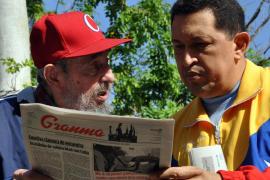 Hugo Chávez: «Si no es por Fidel, me hubiera ido a Caracas con esa dolencia»