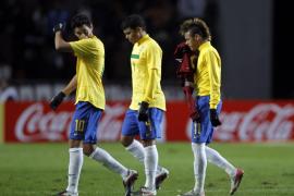 Brasil naufraga ante una Venezuela bien plantada