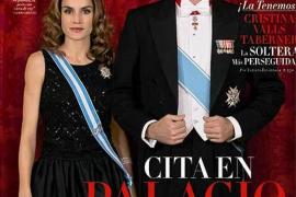 Los Príncipes de Asturias, portada de revista
