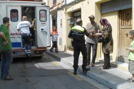 Herido grave un niño de tres años al ser atropellado por un ciclista en Can Pastilla