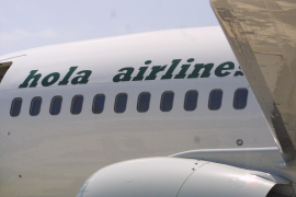 Hola Airlines suspende operaciones y presentará un ERE