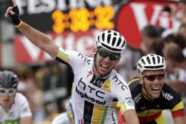 Cavendish obtiene la victoria y Hushovd mantiene el liderato