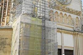 Las obras de la iglesia dels Dolors, paralizadas por falta de financiación