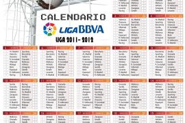 Calendario de la Liga 2011-2012