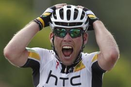 Mark Cavendish (HTC)  suma con autoridad su segunda victoria