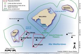Oceana propone proteger casi 3.000 kilómetros cuadrados del mar balear