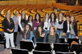 Estudiantes de Balears visitan las instituciones de la Unión Europea