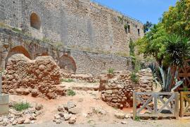 Cort actuará frente al abandono de la zona arqueológica de la calle Pólvora de Palma