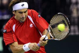 Ferrer completa jornada triunfal de la Copa Davis con victoria ante Roddick