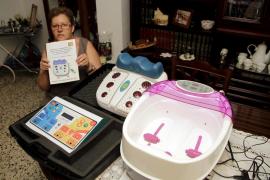 Denuncian una estafa a enfermos de Palma con una máquina que supuestamente «lo cura todo»
