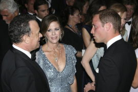 Los duques de Cambridge promocionan el cine en Los Àngeles