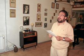 El Ajuntament de sa Pobla entregará el Escut d'Or al escritor Pere Bonnín