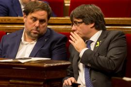 Junqueras alega que la declaración de independencia de Cataluña no tuvo valor jurídico