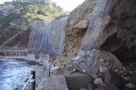 Costas proyecta una escollera de 20 metros en Cala Estellencs