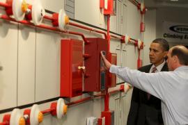 Obama avala con 6.000 millones de euros la primera planta nuclear