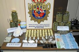 La policía incauta 2,5 kilos de cocaína en Palma en la 'operación Martillo'