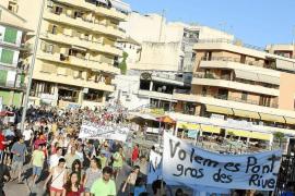 La oposición de Manacor culpa a PP-AIPC de la demolición del puente del Riuet de Porto Cristo