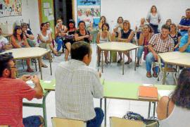 Indignación al no saber el destino de los alumnos del instituto de Sant Marçal, aún por construir