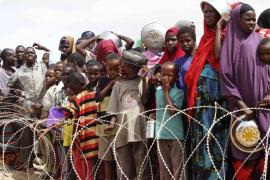 La sequía empuja cada día a más de mil somalíes a refugiarse en Kenia