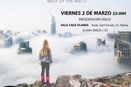 El grupo Ombra presenta su disco 'Walk up the walls' en Palma