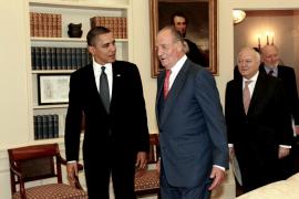 Obama expresa al Rey su deseo de visitar España, aunque no pone fecha