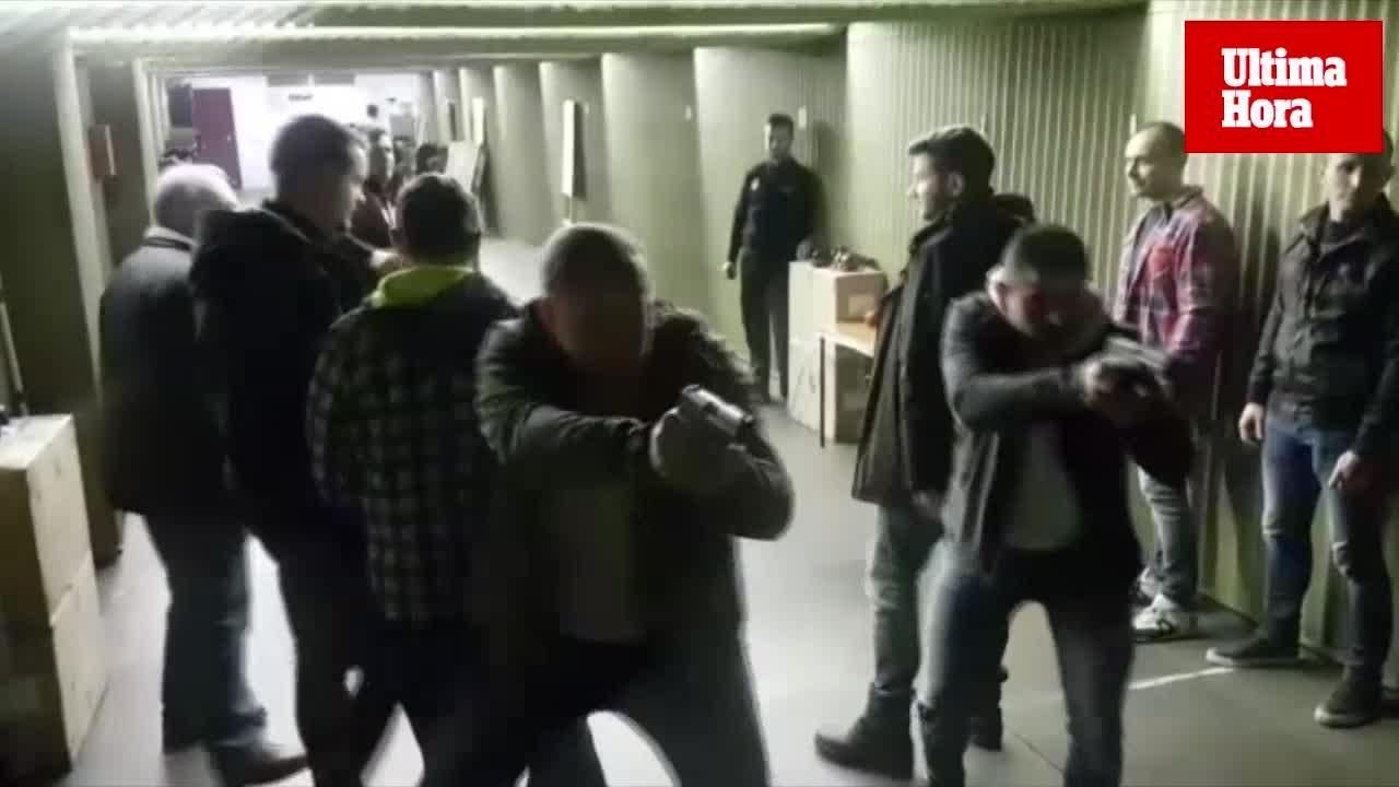 La Policía Nacional realiza en Palma un curso de tiro aplicado a la protección de personalidades