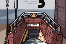 Palma edita 'El dia 3', ganador del Premio de Cómic 2016, que narra el accidente de metro de Valencia