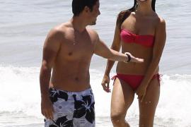Elena Furiase se relaja en Eivissa