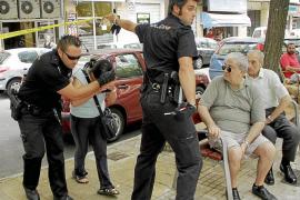 Detenida una mujer que apuñaló en Palma a su expareja cuando él intentaba violarla