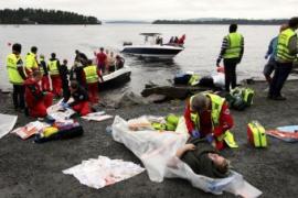 Asciende a 84 el número de víctimas en el campamento de isla noruega