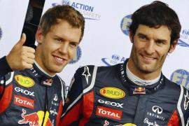 Webber: «Quizá ha sido un poco desastroso que Vettel no salga primero»