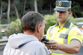 Las multas por alcoholemia aumentan un 53% en el primer semestre en Balears