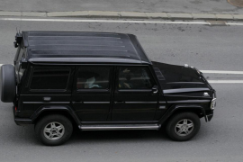 Convoy believed to be transporting Anders Behring Breivik arrives at court in Oslo