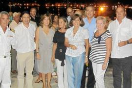 La base naval de Sóller celebra la fiesta de la Virgen del Carmen